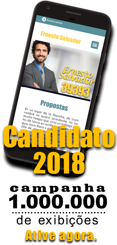 Campanha Candidato 2018